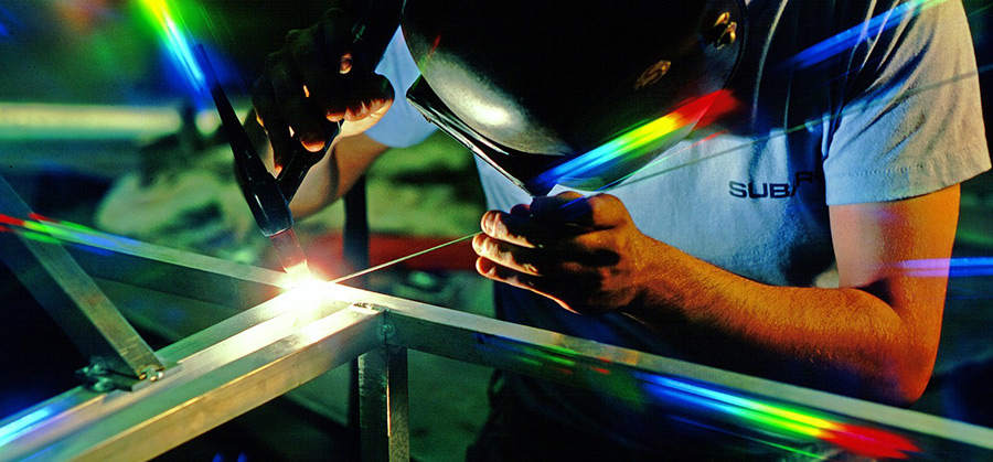 Metallitööd. Metallkonstruktsioonide valmistamine
