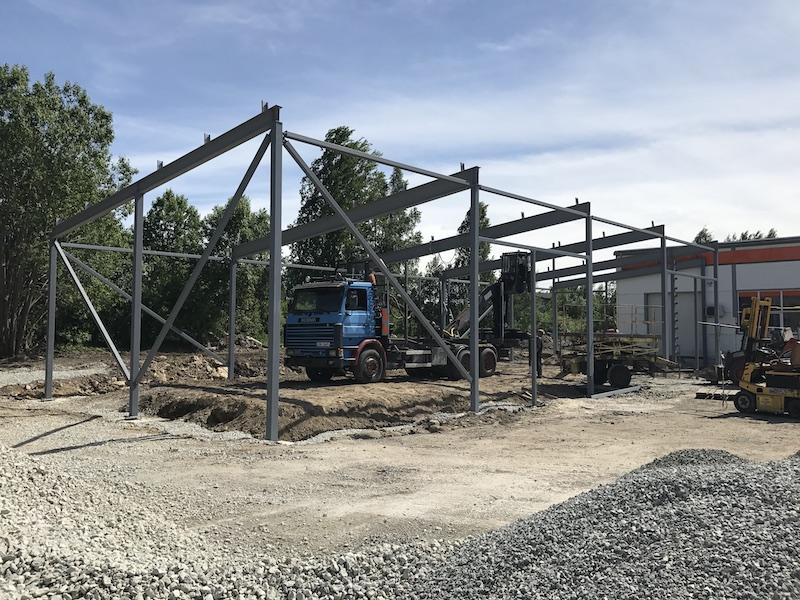 Metallkonstruktsiooni ehitamine