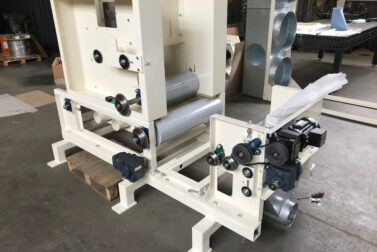 Machineries for opening the raw fiber